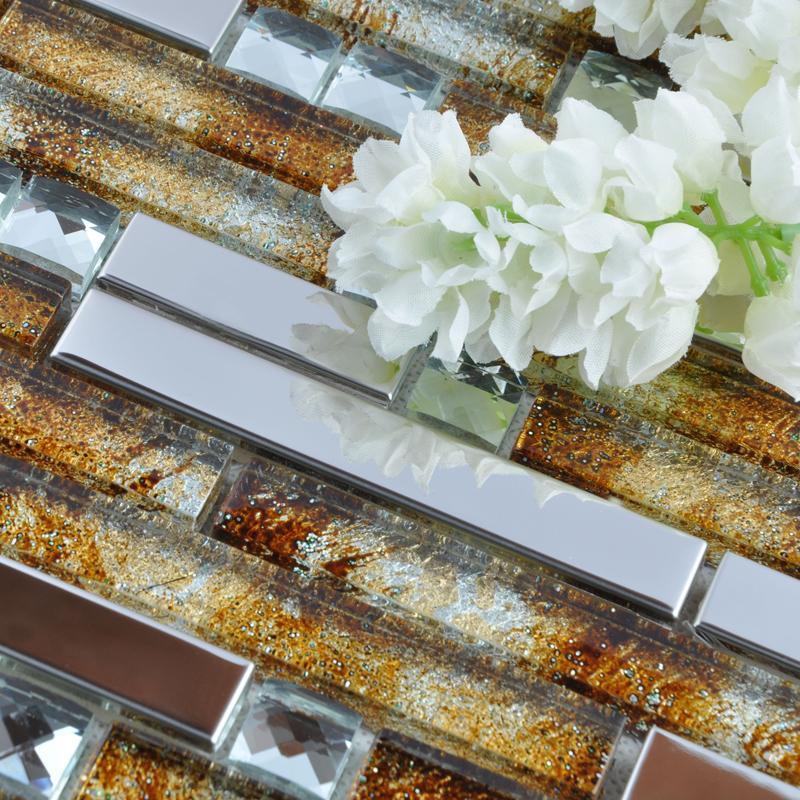 interlocking tiles backsplash mosaic tiles T005-4