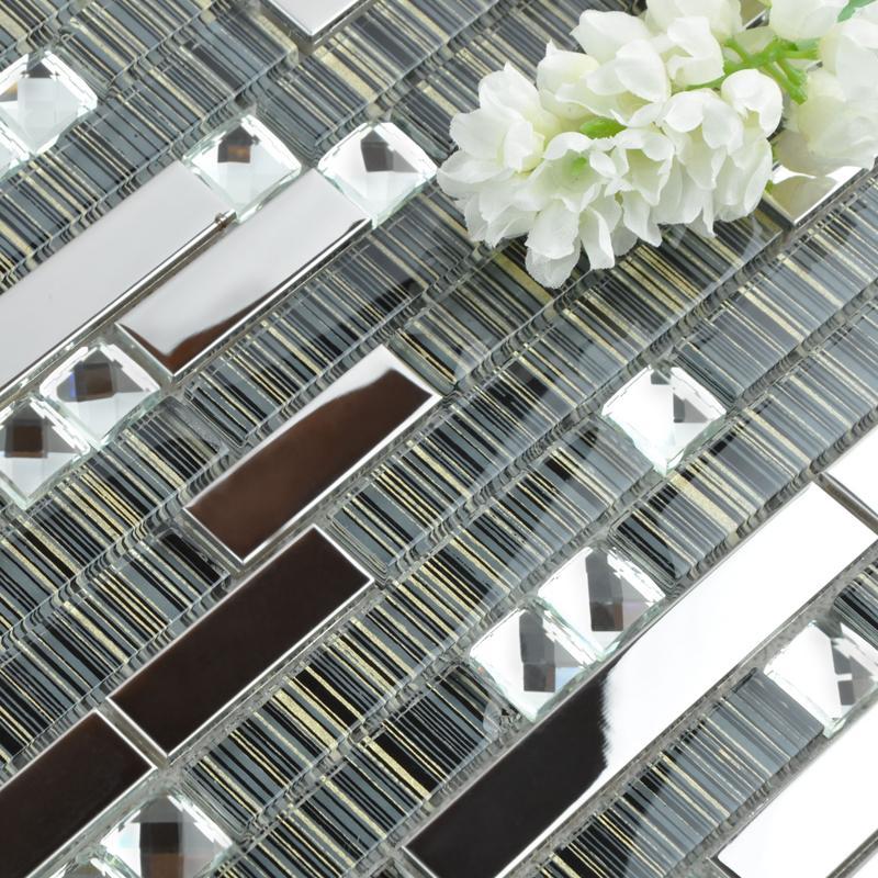 Art Crystal Glass Mosaic Tile T006 4