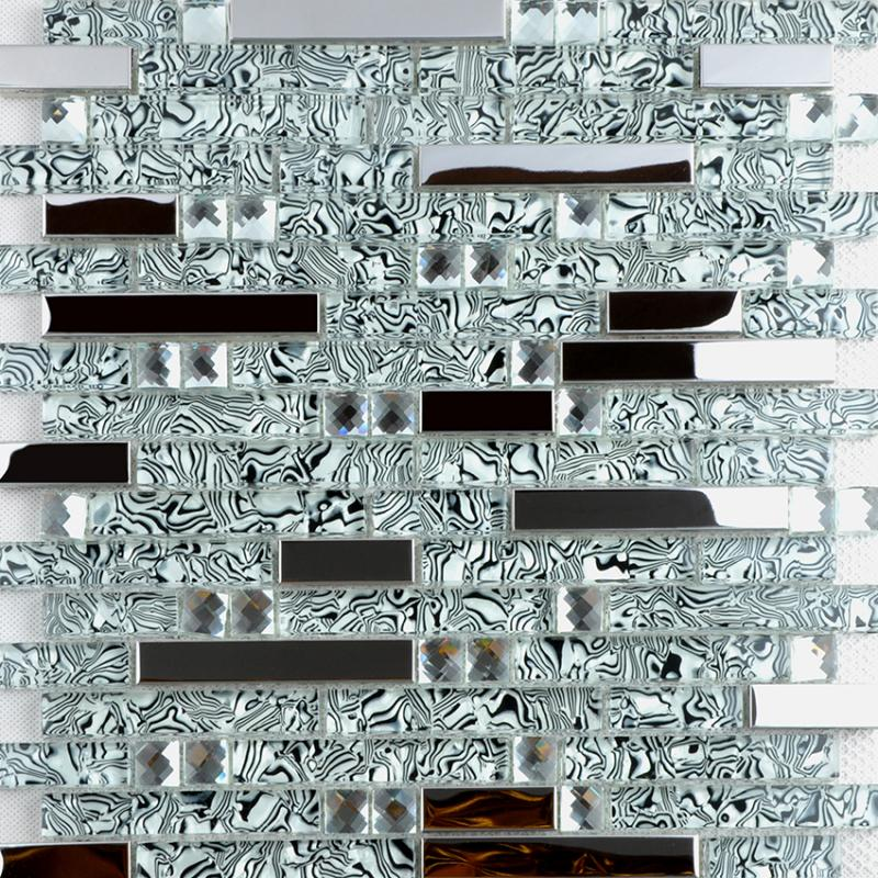 Metal Coating Wall Tiles TWS052 2