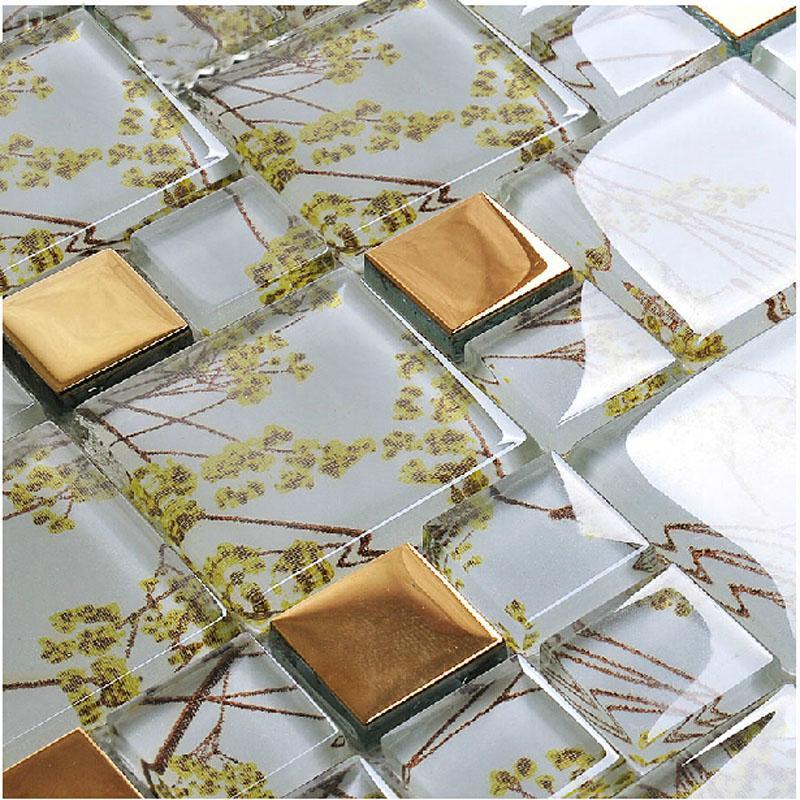 glass mosaic tile patterns F206-2