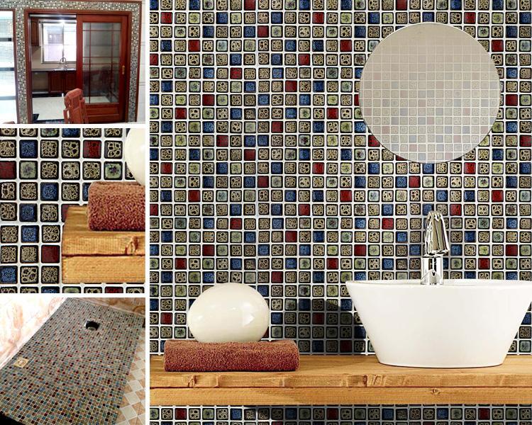 Porcelain Tile Bathroom Wall Stickers Gm02 2