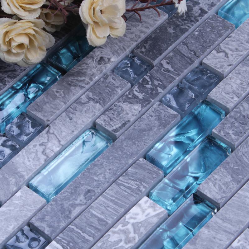 crystal backsplash kitchen ideas N008