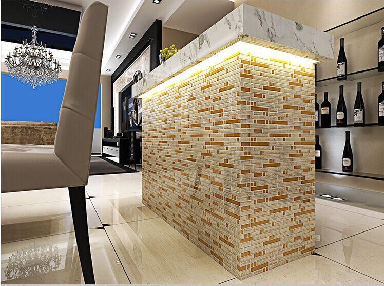 metallic tile backsplash kitchen B902