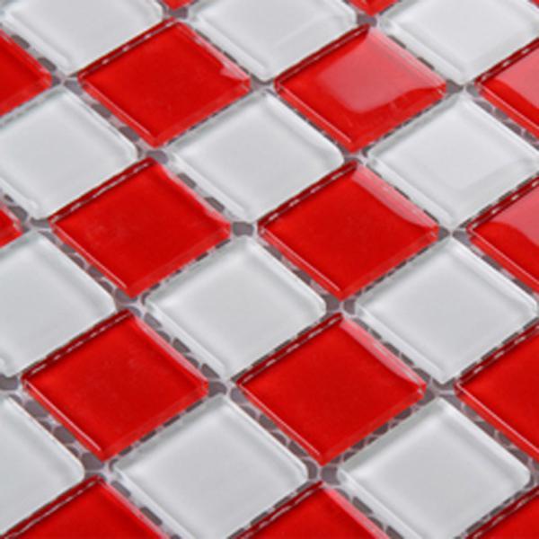 vitreous mosaic tile plated crystal glass backsplash 3031
